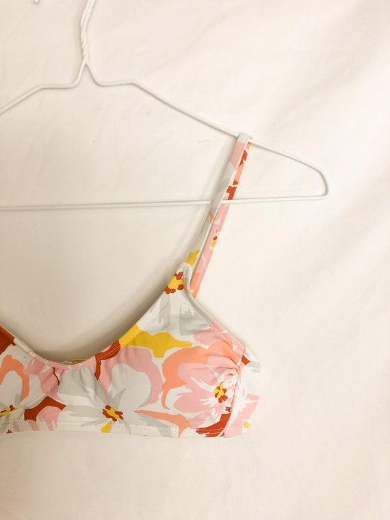 Floral Bikini Top-XS