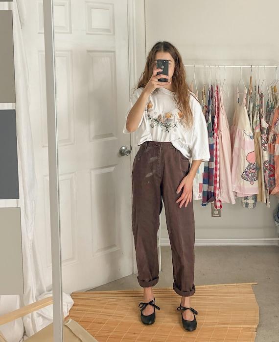 Vintage Brown Liz Claiborne Jeans-Medium