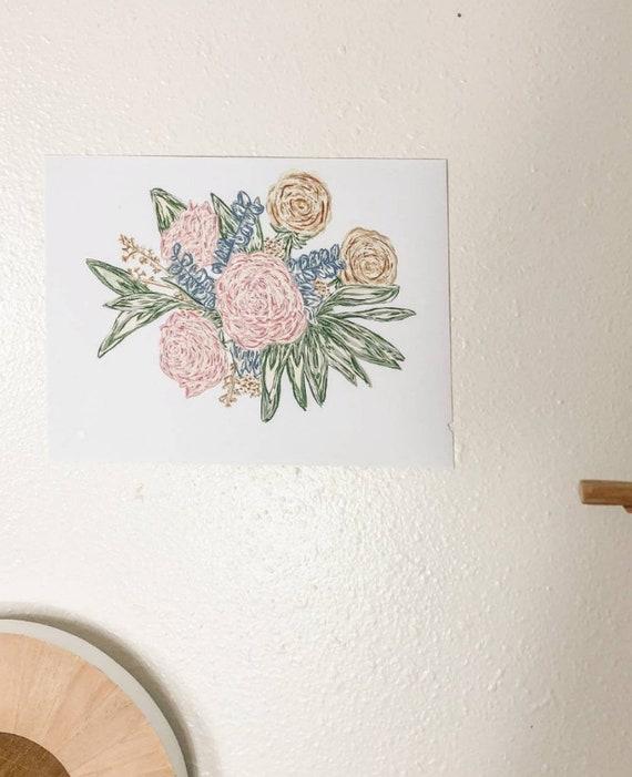 Flower Bundle Print