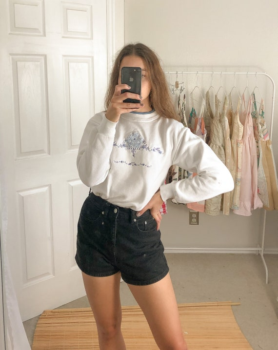 Vintage Birdhouse Sweatshirt-Small