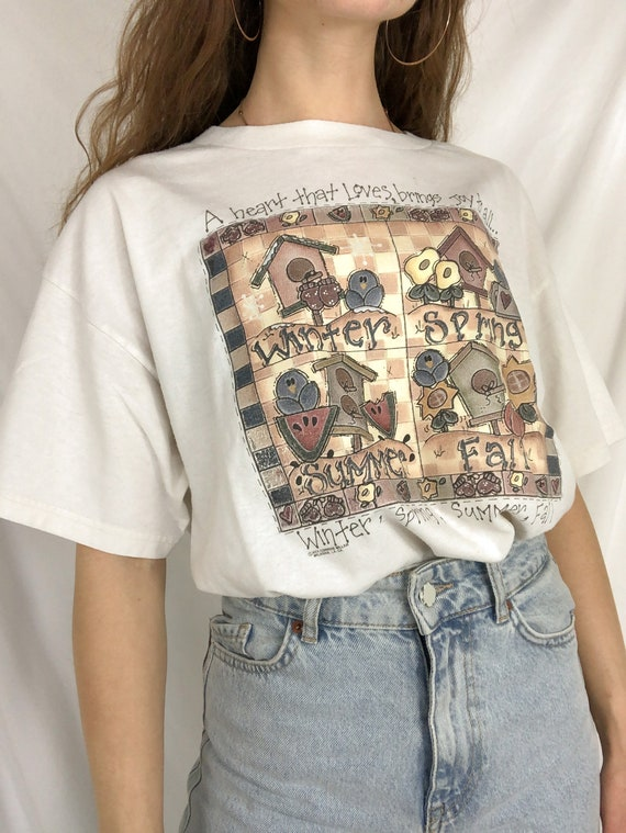 Vintage Tee Shirt-Large