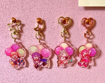 """Project Sekai: Wonderlands x Showtime 2"""" Double-Sided Acrylic Charms"""