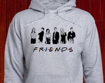 Amigos Unisexe à Capuche-TV Show-Rachel-Phoebe-Ross Joey-Drôle