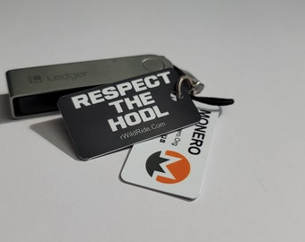 Crypto Keychain 3 Pack - Respect The HODL