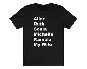 SHEroes Shirt My Wife Tshirt Tee Gift for Wife Gift for Husband