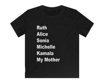 SHEroes T-shirt My Mother Shirt Mommy and Me Tshirt Mother Daughter Mother Son Kids shirt