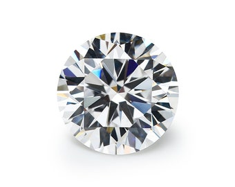 2ct Loose moissanite white D color excellent Princess cutting with GRA certificate