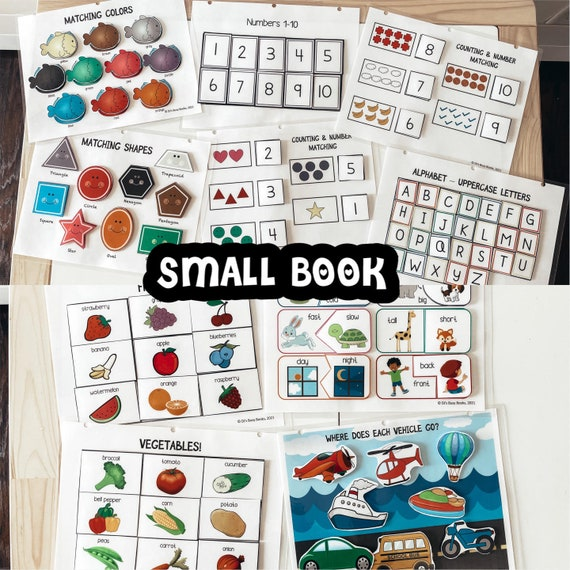 Small Book: Busy Book for Toddlers