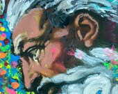 ONENESS: Original, Abstract, Wall Art, Watercolor, Giclée, Print, Canvas, Large, Joyous, Colorful, Vibrational, Healing, Uplifting
