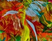 ETERNITY: Original, Abstract, Watercolor, Giclée, Print, Canvas, Large, Wall Art, Uplifting, Healing, Inspirational Colorful, Joyous