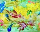 FAIRY TALE: Original, Abstract, Wall Art, Watercolor, Giclée, Print, Canvas, Vibrational, Joyous, Colorful, Healing, Inspirational