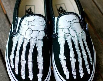 vans scheletro