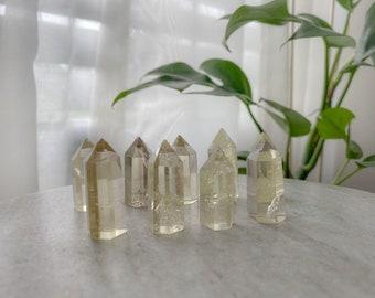 Tiny Citrine Tower, Prosperity Crystal, Healing