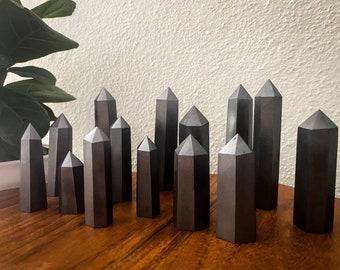 Hematite Towers, grounding crystal, empath's stone