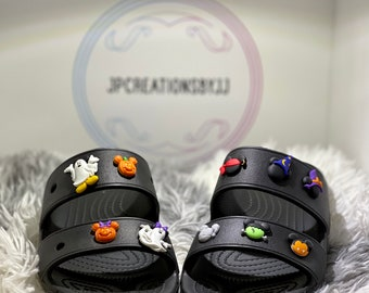 Limited Edition Halloween shoe charms for crocs, wristbands or bracelets