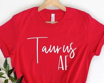 TAURUS zodiac star birth sign birthday christmas present tee mens womens T SHIRT