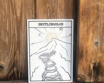 The Peak District's 'Shutlingsloe' Magical Spot Print