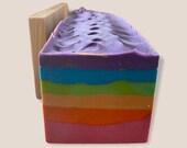 Rainbow Soap  Rainbow Charm Soap   Rainbow Pride Flag   LGBTQ   Soap Birthday Gifts  Rainbow Soap  Inspiring Pride