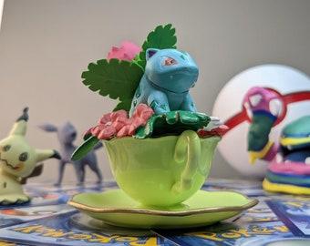 Ivysaur Teacup, Flower Cup  Pokemon