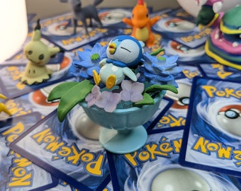 Piplup Teacup, Flower Cup Pokemon