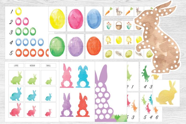 Montessori Friendly Easter Printable Bundle