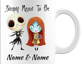 Simply Meant To Be 11oz Personalized Nightmare Mug