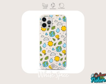 iPhone 12/12 Pro/12 Pro Max Biodegradable Recycled Wheat Eco-Friendly Phone Case