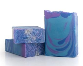 Stargazer Artisan Soap - Handcrafted, Vegan, Palm Free, Cold Process Soap Bar