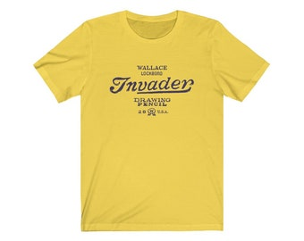 Wallace Invader Unisex Cotton Tee