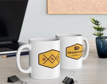 Brand Name Pencils Coffee Mug