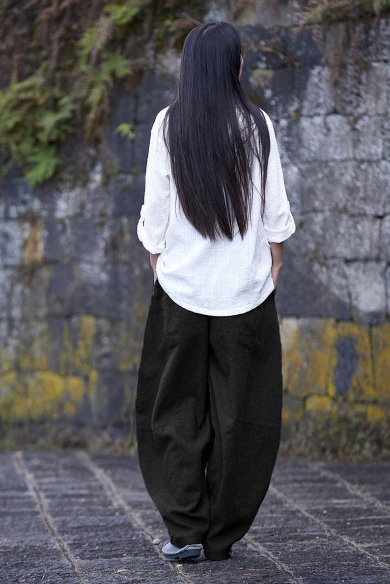 Women/'s linen pantssummer linen pantslinen pantsdesigned linen pants