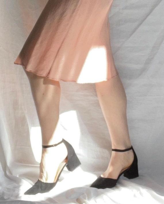 Vintage 1940s Acetate Slip Dress - image 6