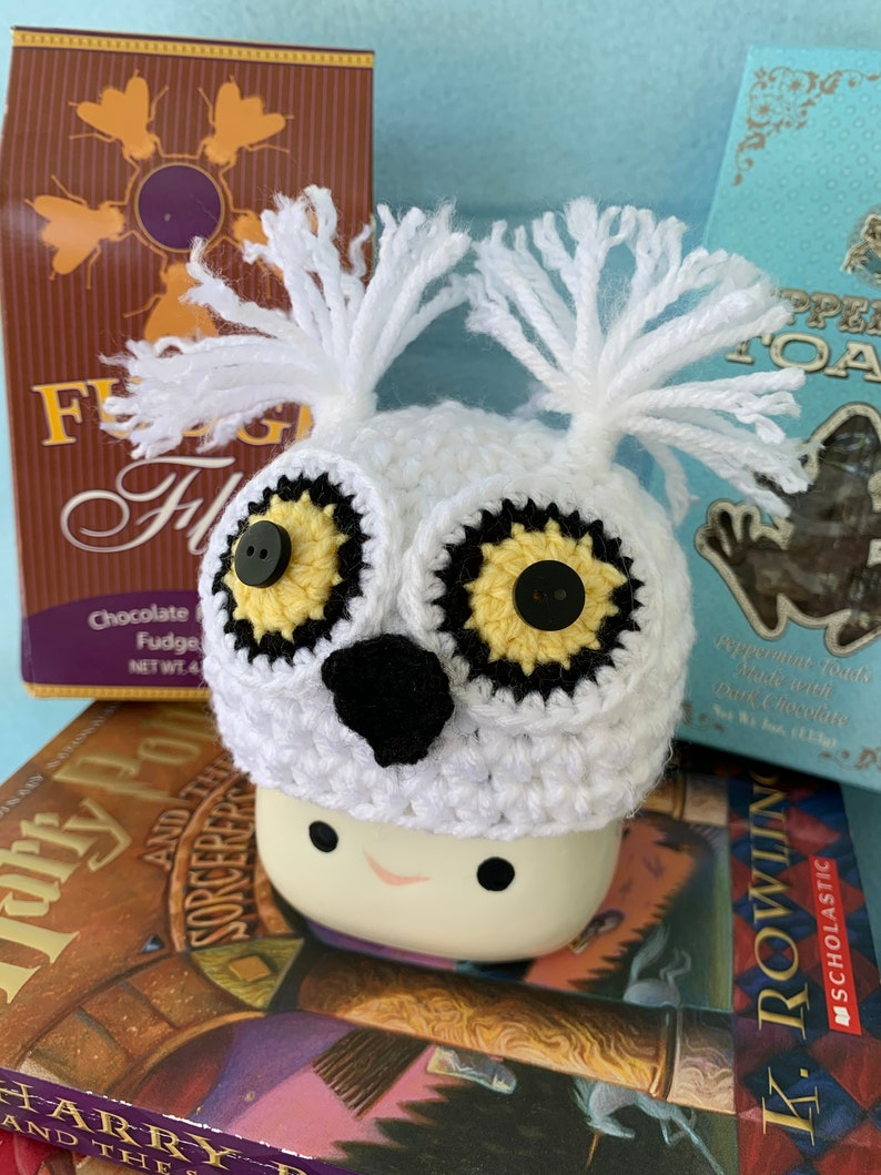 Halloween Mug Hat Harry Potter Marshmallow Mug Hat Marshmallow Mug Hat Hedwig