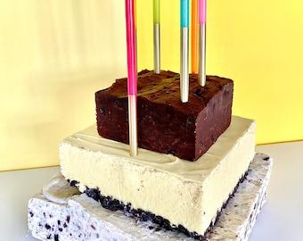 Banana Cream Cookie Fudge Cake