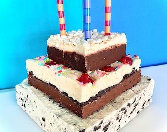 Milk and Cookies Fudge Cake