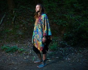 pixie psytrance tribal festival clothing hippie Psychedelic dress