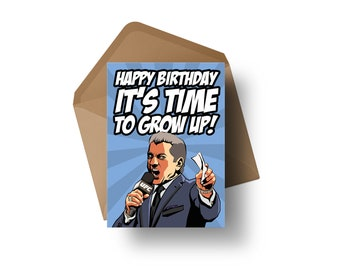 "UFC Announcer - Bruce Buffer | 7x5"" Birthday Greeting Card"