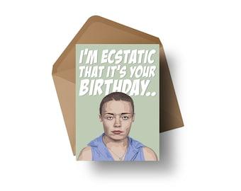 "UFC Fighter - Rose Namajunas | 7x5"" Birthday Greeting Card"
