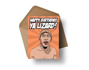 "UFC Fighter - Paddy Pimblett   7x5"" Birthday Greeting Card"