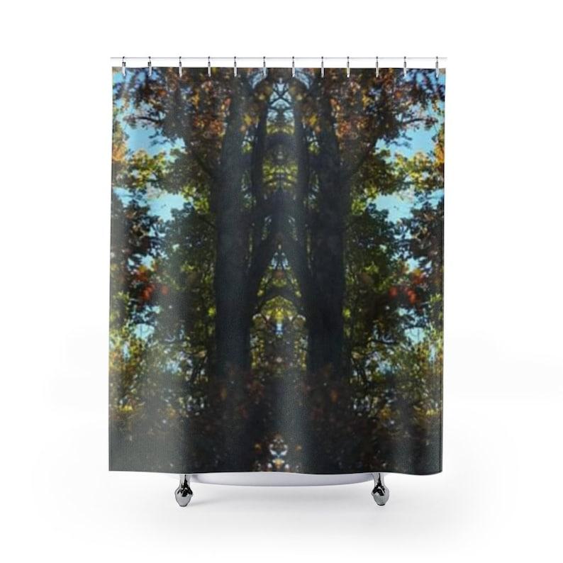 A Sacred Prayer Shower Curtains