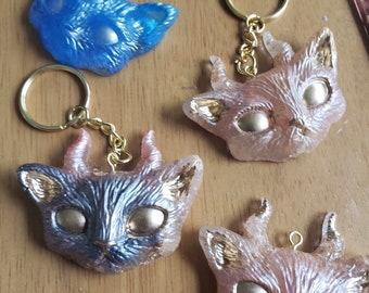 Kitty Devil Key Chains