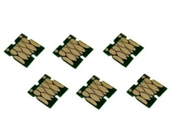 four 4PK chips T220XL For Epson XP-320 424 2630 WF2650 WF2660 WF2750 2760