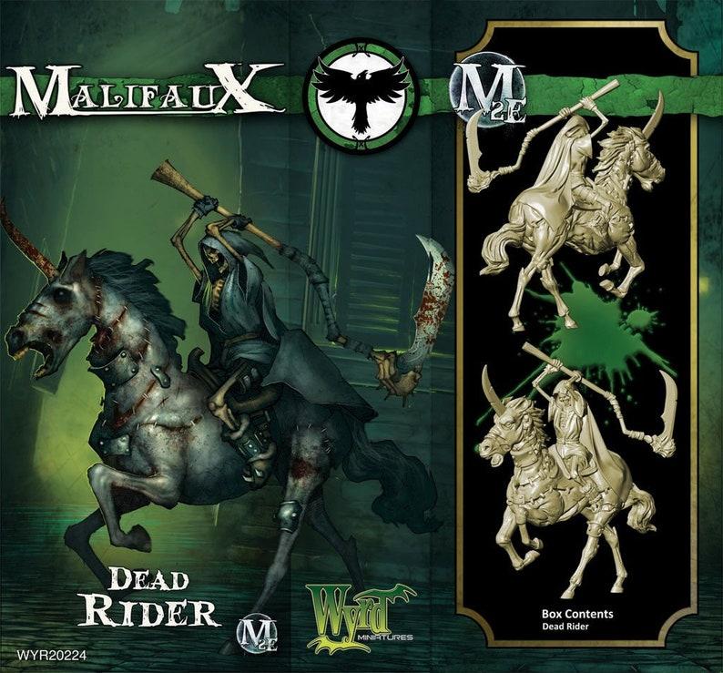 Malifaux 2E Dead Rider
