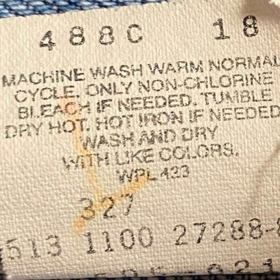 VINTAGE LEVIS 505 • Made in USA • 34/34 - image 7
