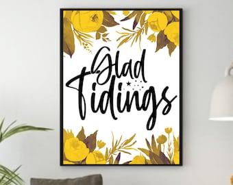 Inspirational Wall Art Decor, Botanical Print, Inspirational Quotes Download, Inspirational Gift for Women, Home Office Sign, Watercolor Art