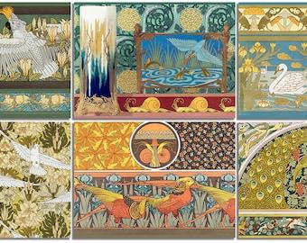 The Art Nouveau Postcard Collection #1