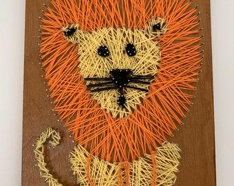 String Art Safari Animals