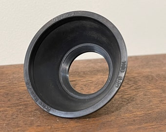 Zeiss Ikon lens hood - 27mm thread - rubber - made in Germany