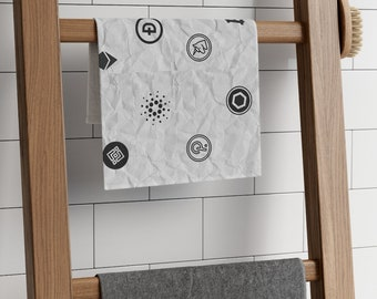 """11""""x18"""" Bathroom Kitchen Hand Towel Homegood 
