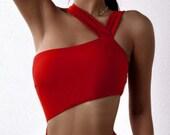 pdf pattern. Cut-out Waist One Piece Swimsuit. swimming suit. sexy one piece. one shoulder swimsuit. swimsuit. sexy swimsuit. high waist